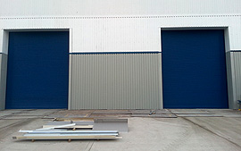 Industrial Security Roller Shutters