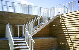 Galvanised Steel Staircase
